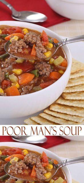 Poor Man's Soup