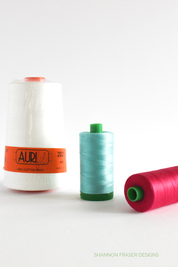 Aurifil Threads | Shannon Fraser Designs