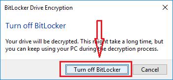 Đặt mật khẩu ổ cứng bằng BitLocker - H12