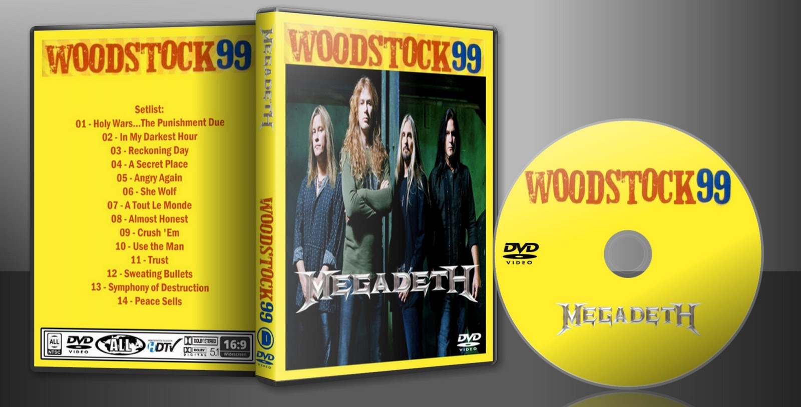 Woodstock 99 Full Concert Dvd