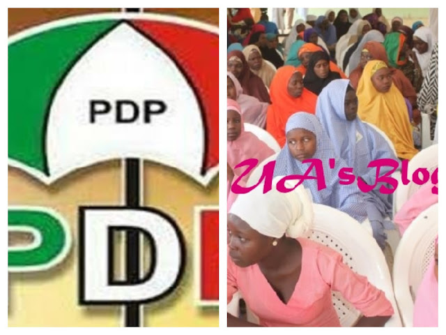 Dapchi: A scam of no equal dimensions – PDP reacts to release of schoolgirls