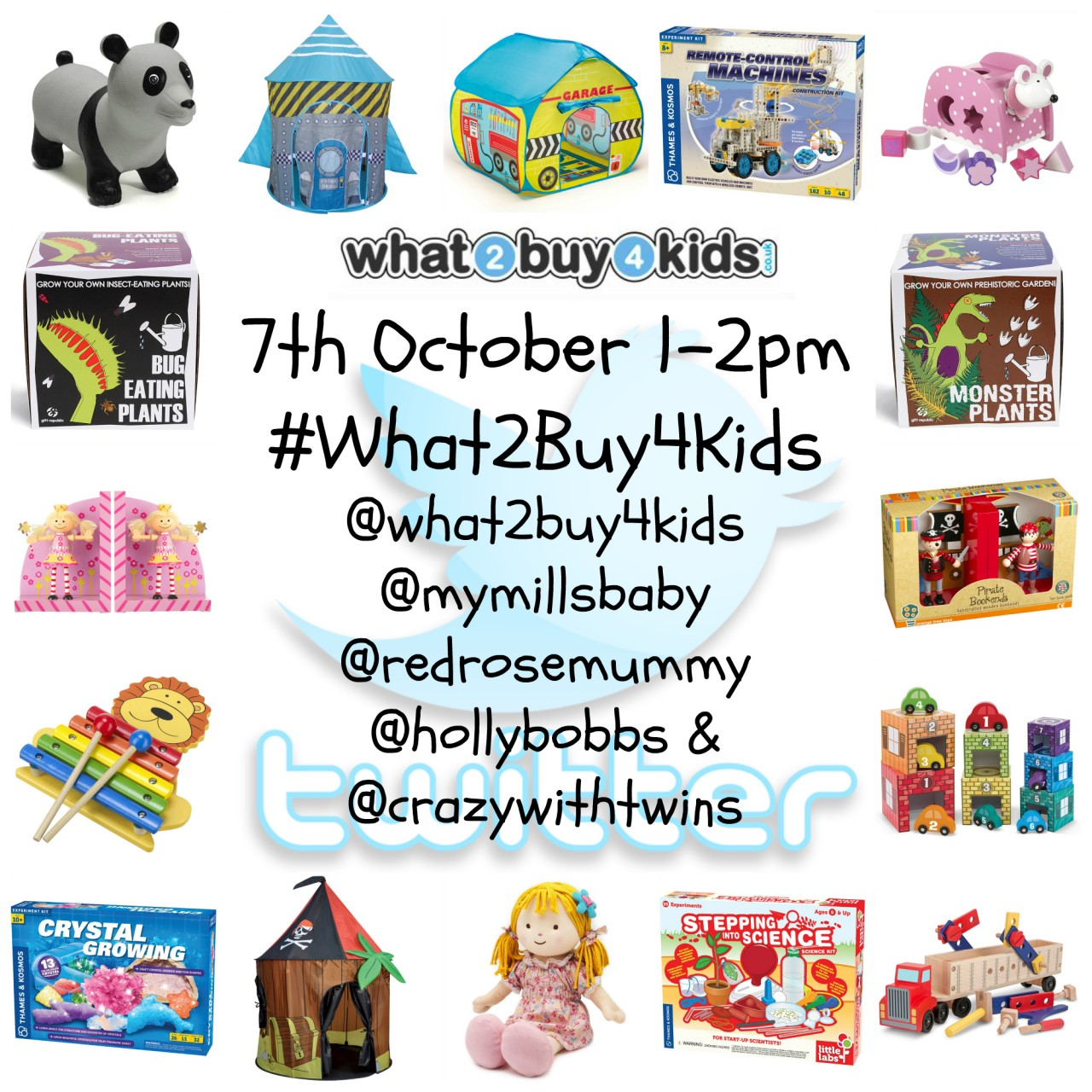 #What2Buy4Kids Twitter Party, Tuesday 7/10/14, 1-2pm