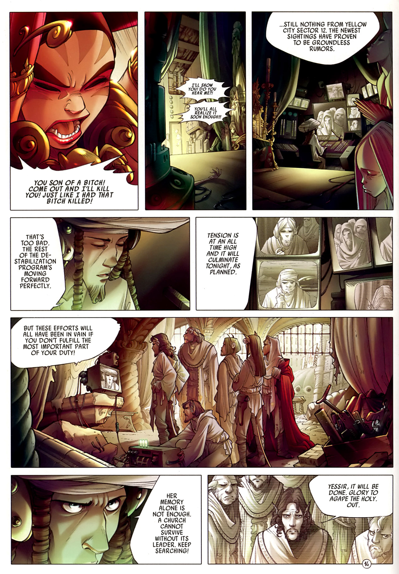 Read online Sky Doll comic -  Issue #3 - 18