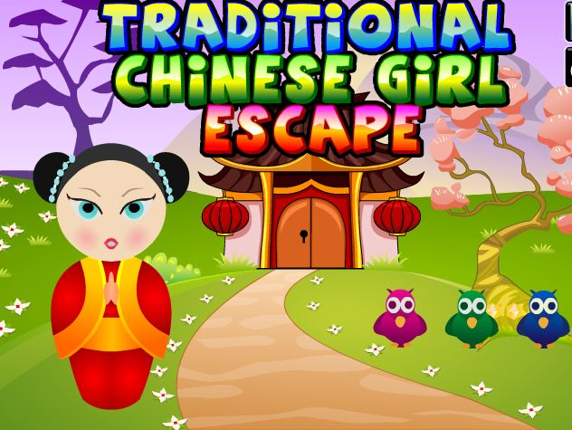 Games4King Traditional Chinese Girl Escape