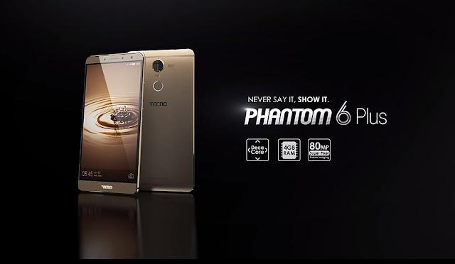 Tecno Phantom 6 Plus Specifications