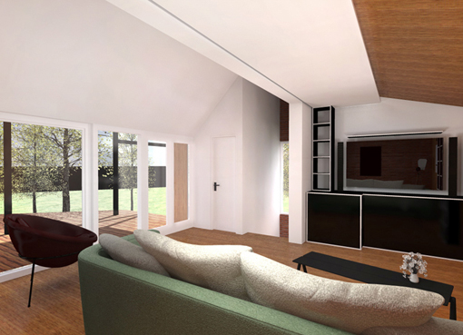 Design interior modern - Proiecte case cu etaj - Servicii Design Interior / Amenajari Interioare