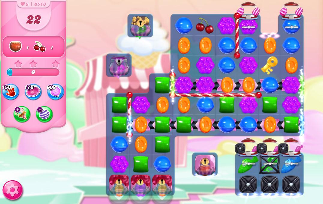 Candy Crush Saga level 6513