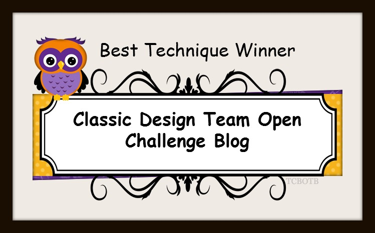 BEST TECHNIQUE WINNER September CLASSIC DT OPEN CHALLENGE