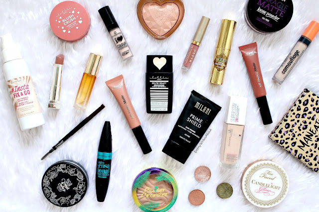 makeup flatlay, best of beauty 2017