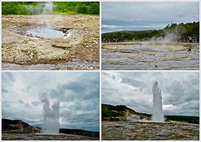 Seuraava pysähdyspaikkamme  on geotermisellä eli kuumien lähteiden alueella