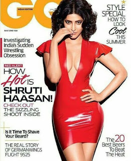 Shruti Haasan in red bikni