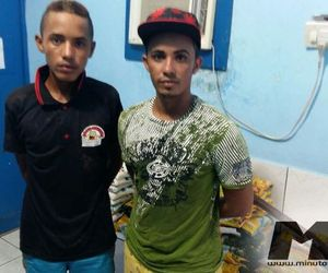 Olho D'água do Casado: Polícia prende acusados de vários furtos na cidade