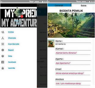 BBM MOD CHAT ME - ORGY v5 Base BBM 3.3.1.24 Apk
