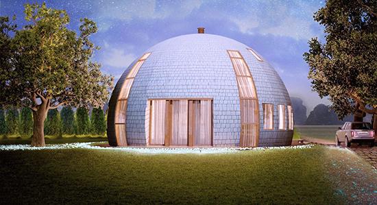 8 kreasi bentuk atap kubah