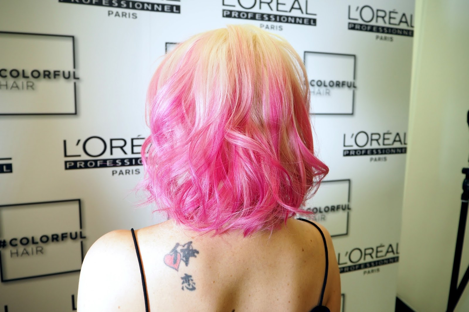 Pink hair by Loreal Professionel #MyColorful hair, pink ombre