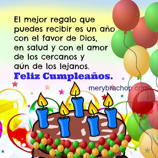 2718926fa8c37 Saludos de Cumpleaños con frases cristianas cortas para amigos ...