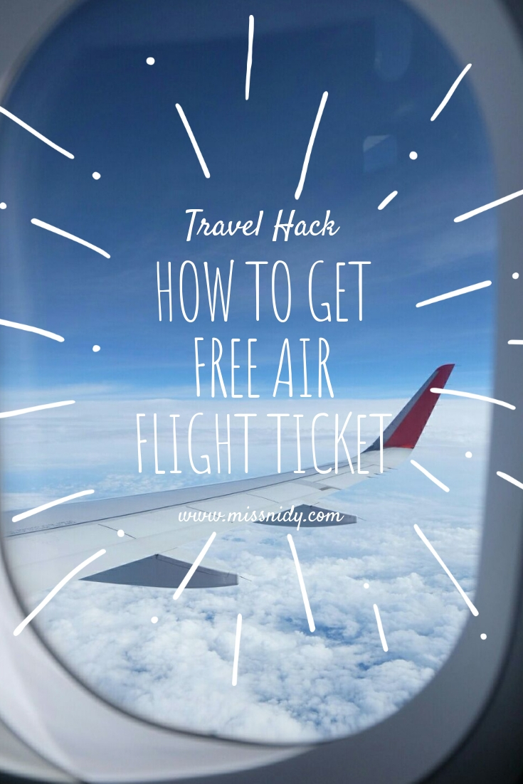 how to get free air flight ticket
