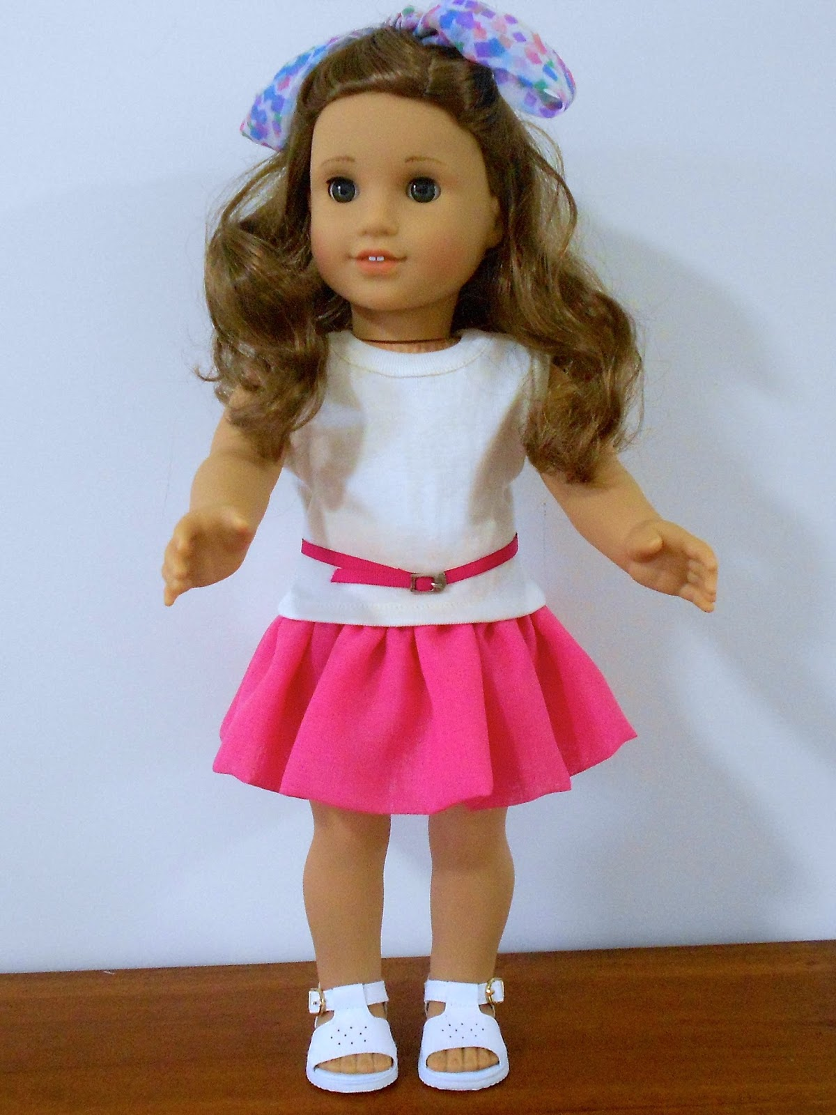 Doll Clothes Patterns By Valspierssews Free Skirt Pattern