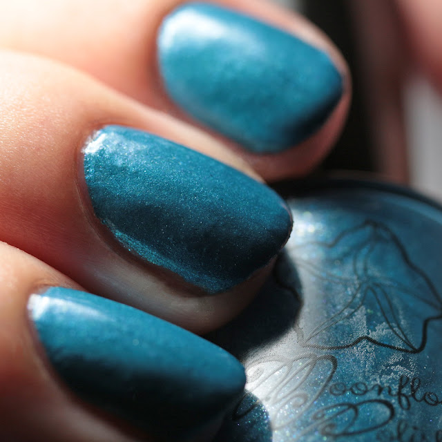 Moonflower Polish Mar Caribe (Caribbean Sea)