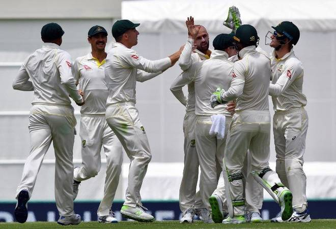 First Ashes Test: England all out for 195; sets a target of 170