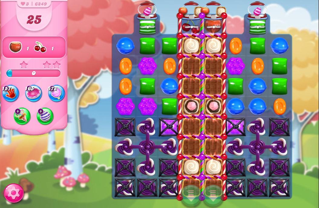 Candy Crush Saga level 6249