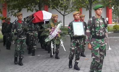 Innalilahi Anggota TNI Yang Dikabarkan Hilang Tempo Hari Saat Kebakaran di Riau Ditemukan Meninggal Dunia - Commando