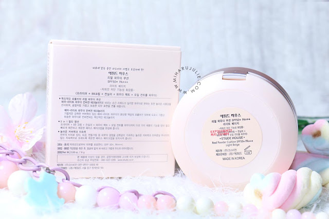 review-Etude House Real Powder Cushion