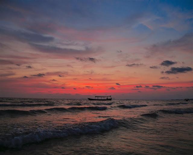 sunset cambodia Sihanoukville