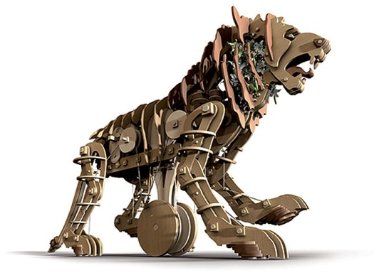 Leonardo's mechanical lion