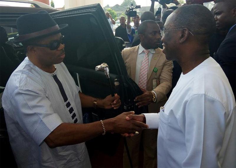 Obiano visits Okowa in Delta State