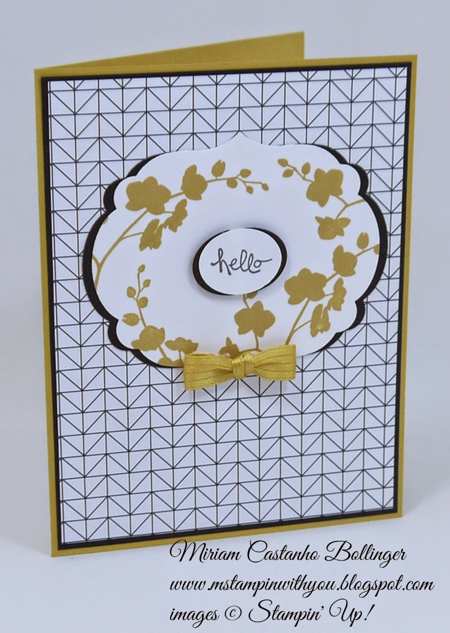 Miriam Castanho Bollinger, mstampinwithyou, stampin up, demonstrator, cc510, back to black dsp, good greetings stamp set, world of dreams, labels collection, big shot, su