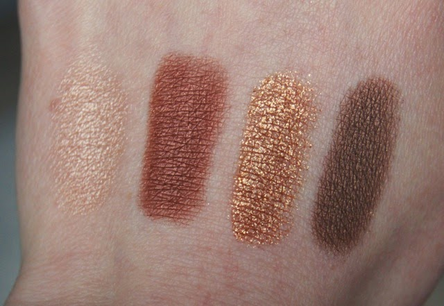 charlotte tilbury dolce vita colour coded eyeshadow palette swatches
