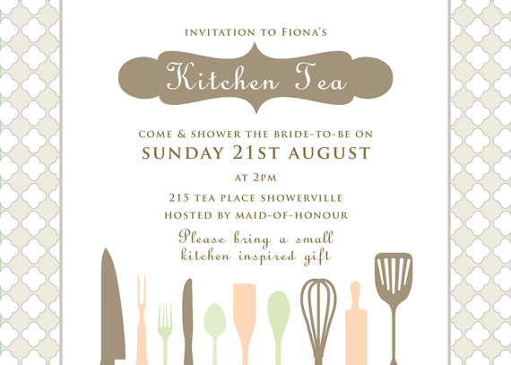 kitchen tea invites ideas jade amp the bridal shower part 2 for 20089