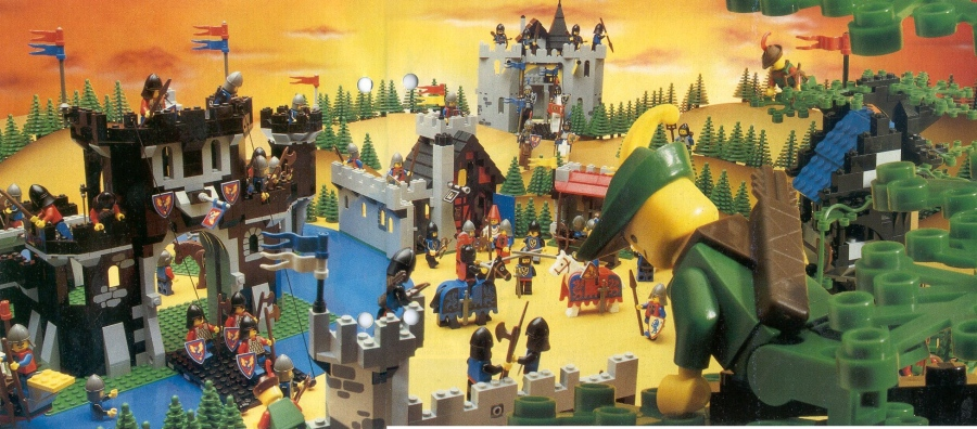 Steve's LEGO Blog: Top Five Things I Miss About Old School LEGO
