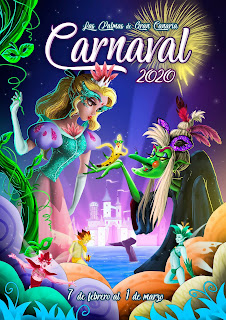 Las Palmas de Gran Canaria - Carnaval 2020 - Propuesta de Jonás Emmanuel Hernández Plasencia (no ganadora)