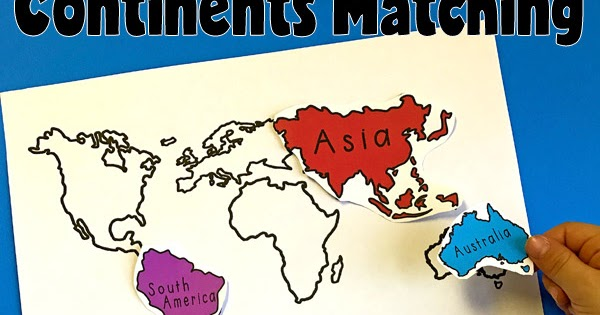 7 continents of the world matching activity totschooling 7 continents of the world matching activity totschooling toddler preschool kindergarten educational printables gumiabroncs Image collections
