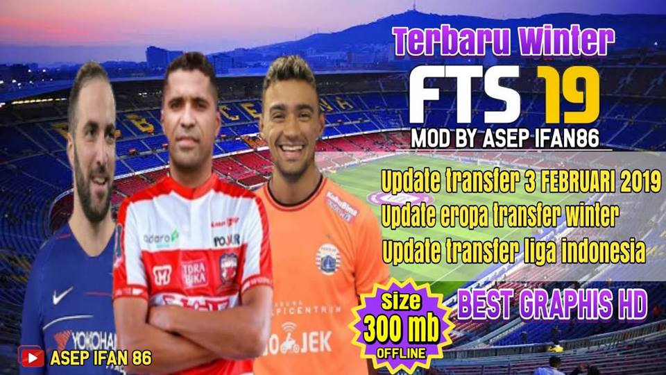 Download FTS 19 WINTER Eropa & Indonesia League Update