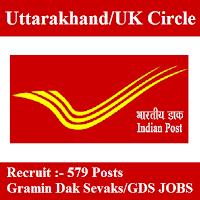 Uttarakhand Postal Circle, UK Postal Circle, freejobalert, Sarkari Naukri, UK POstal Circle Answer Key, Answer Key, uk postal circle logo