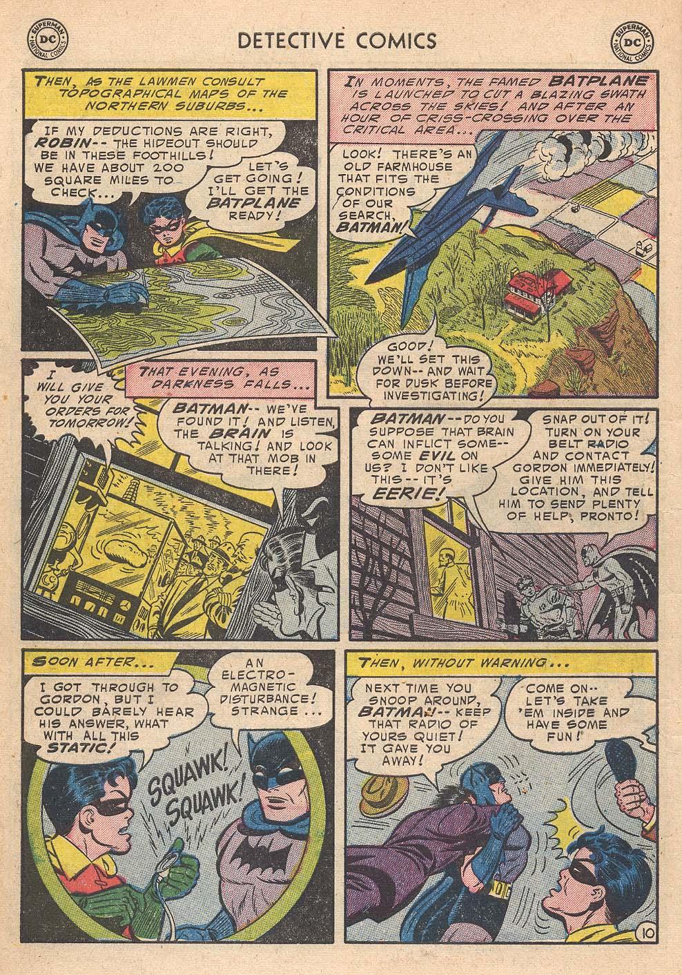Read online Detective Comics (1937) comic -  Issue #210 - 12