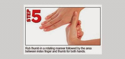 Cara 6 Langkah Mencuci Tangan Puskesmas Ngaglik 1 Sleman