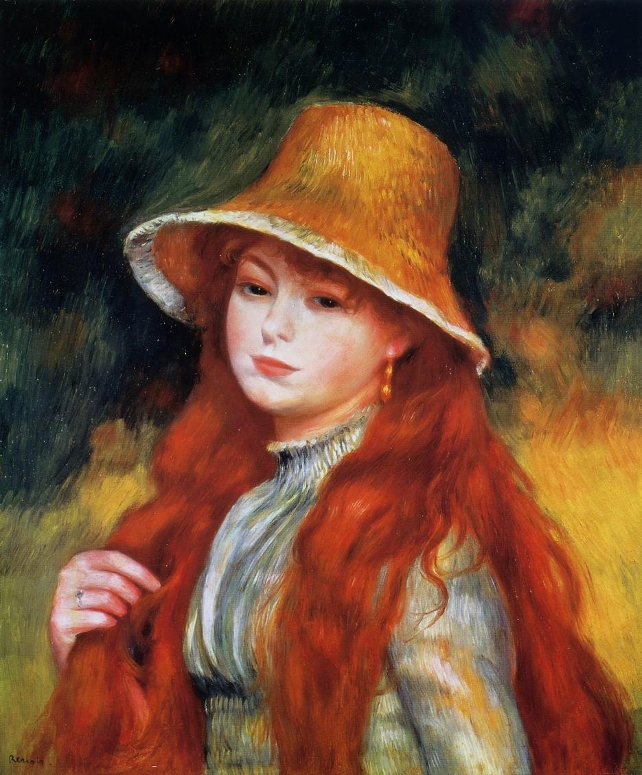 Pierre-Auguste Renoir (1841-1919) , Portrait de Jeanne ... |Renoir Portraits