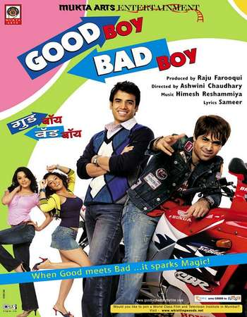 Poster Of Good Boy, Bad Boy 2007 Hindi 350MB HDRip 480p Watch Online Free Download Worldfree4u