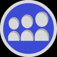 myspace button outline