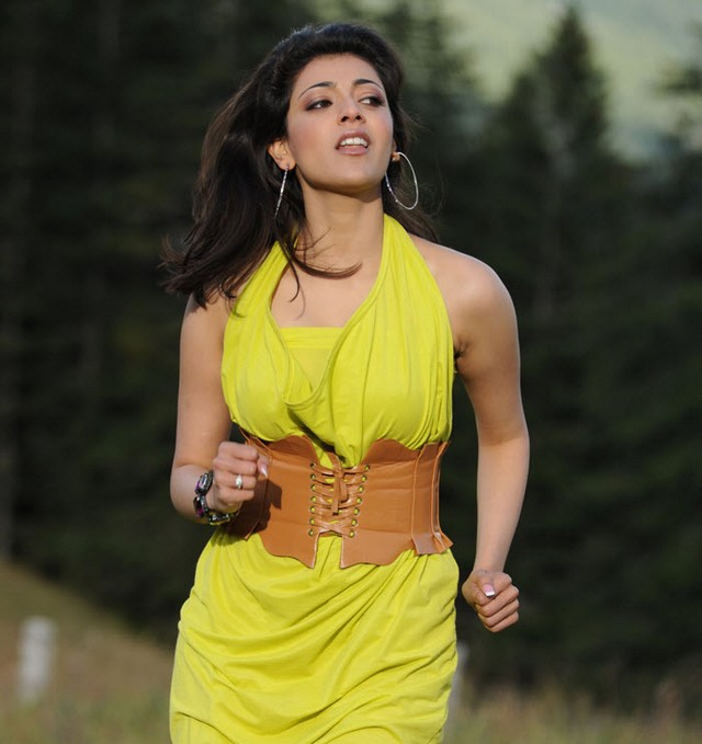 Hot kajal aggarwal shooting
