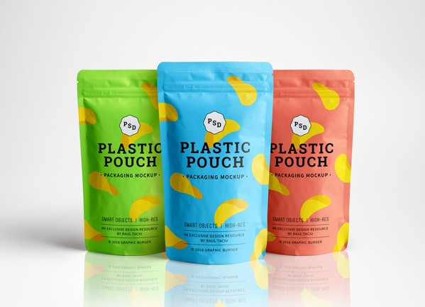 MockUp bolsa de plastico
