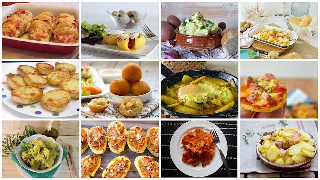 Deliciosas formas de comer patatas. Julia y sus recetas