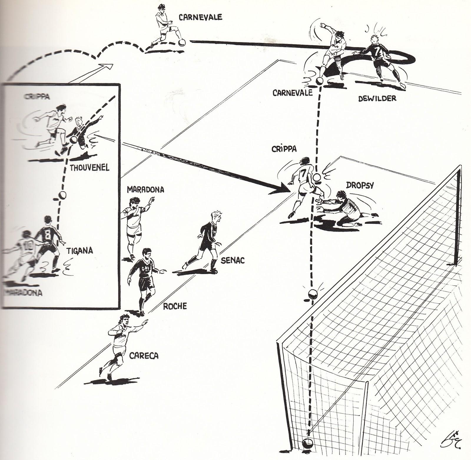 Soccer Nostalgia Old Match Photographs Part 13e