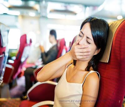 cara mengatasi mabuk perjalanan