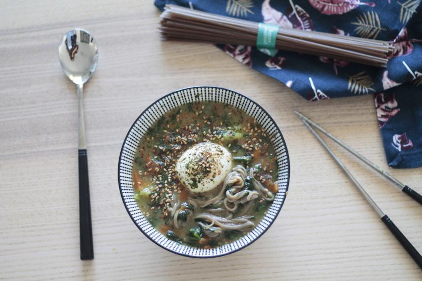 lunch bowl asiatique recette soupe