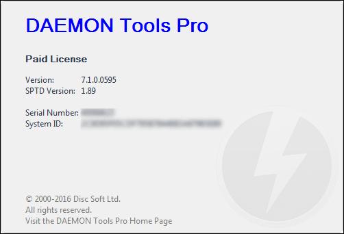 key daemon tools pro 8